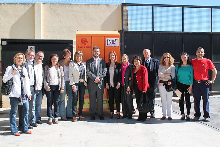 Una delegación del Ministerio de Empleo visita la empresa de inserción Fem Persones. Foto: Ayuntamiento de Aldaya