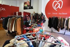 La tienda @rropa de Primado Reig. Foto: Sergi Albir
