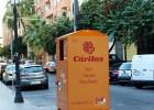 Localizador de contenedores de ropa de la Fundación INTRA y otros recursos sociales en Valencia